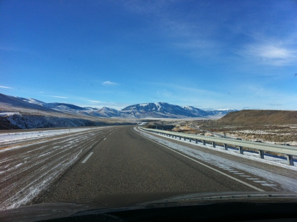 Somewhere south of Dillon, MT.