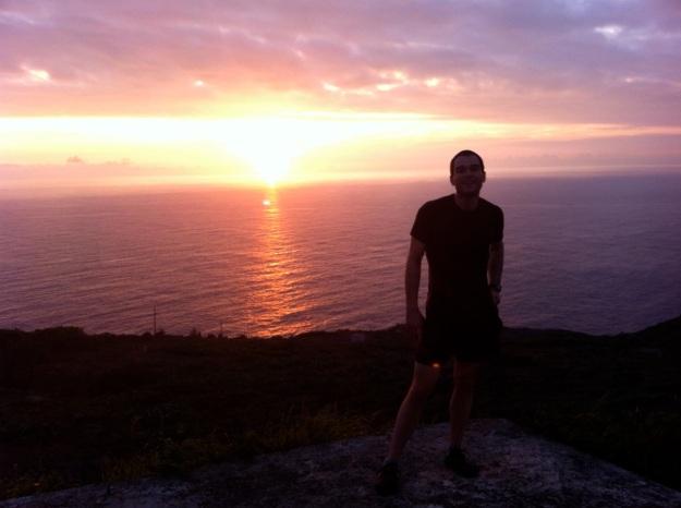 The last sunrise of 2012.