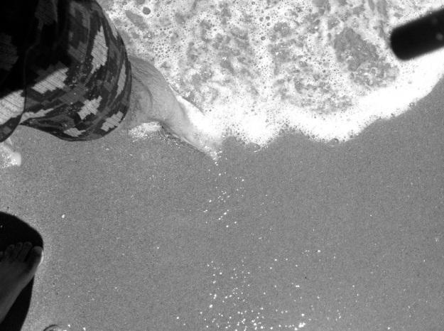 Salt water.