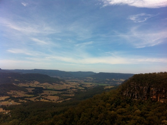 This is Andy's country, and he knows all the best parts- Kangaroo Valley.