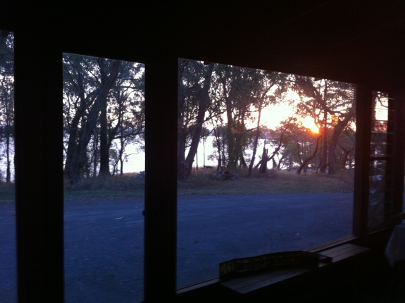 Bowral sunsets from the kitchen sink are not to be missed.