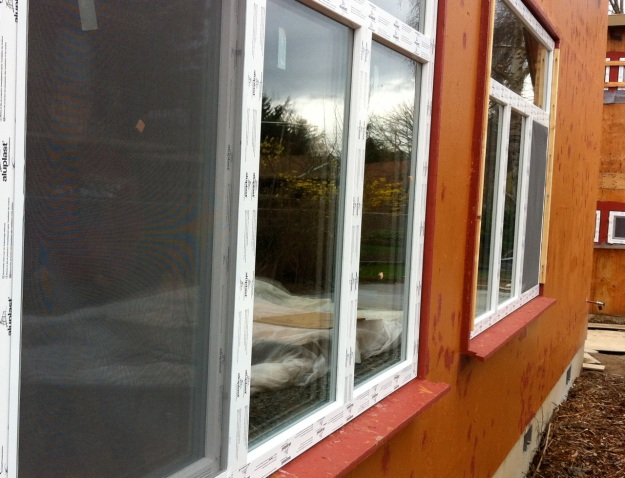 The first Zola uPVC windows installed in the US, as of Thursday...