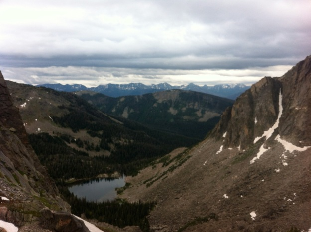 The Yellowstone Range, from the Cowen Cirque.