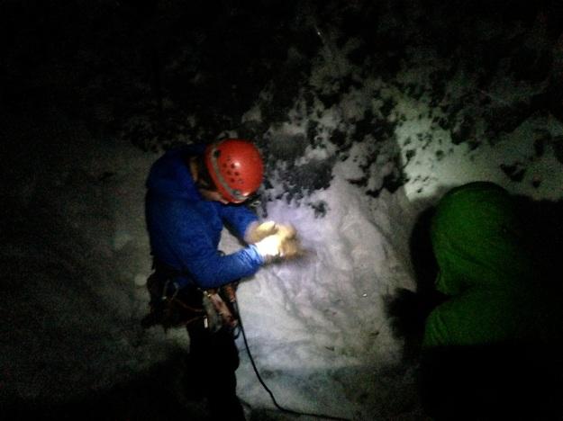 ice climbing preparation
