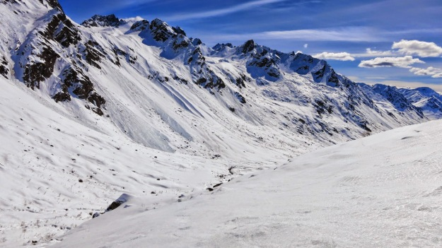 talkeetna mountains, bomber traverse