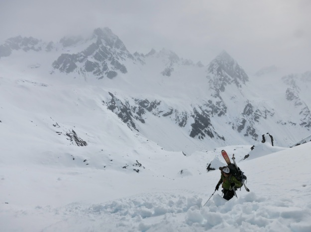 Bomber Traverse, Talkeetna Mountains, Alaska, ski mountaineering