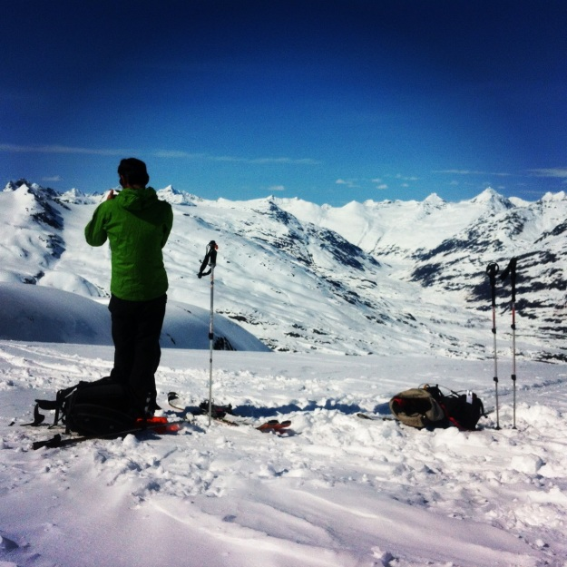 Trip highpoint: Girls Mountain. Amazing turns, amazing place.