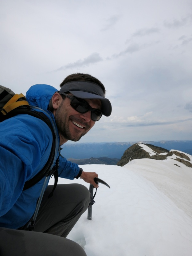 Summit. Windy.