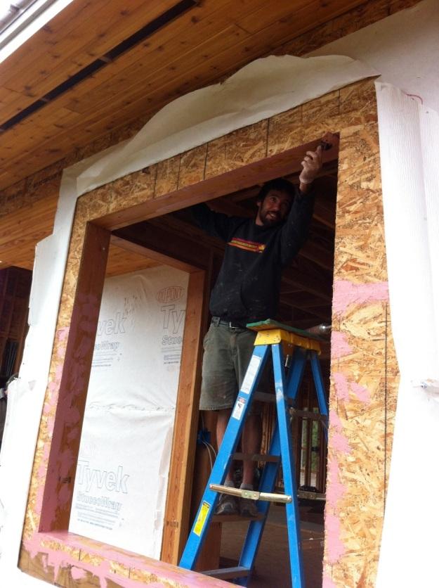 we practice building homes-