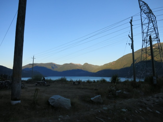 View from camp.