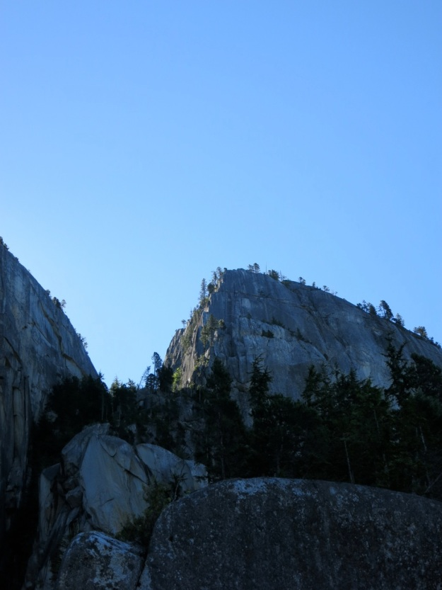 Squamish Buttress, Rock Climbing