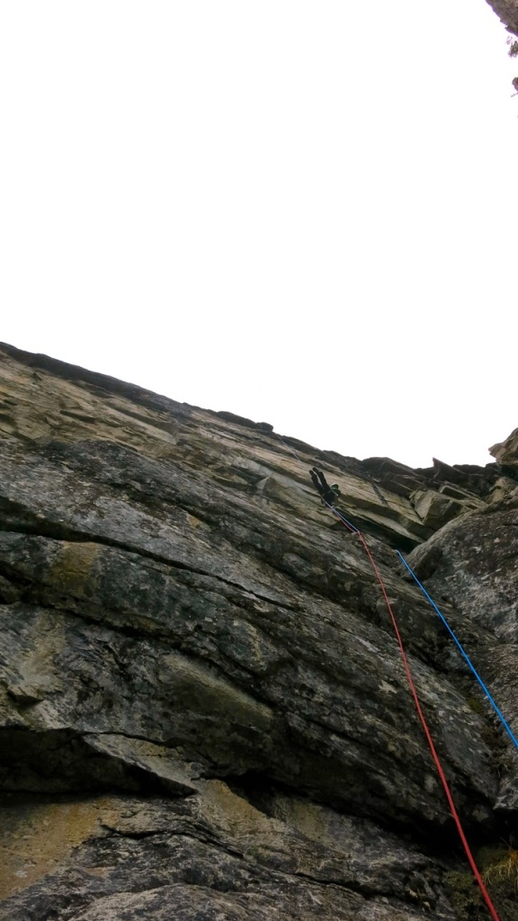 Plus- how many other routes feature a 100' free hanging rappel?