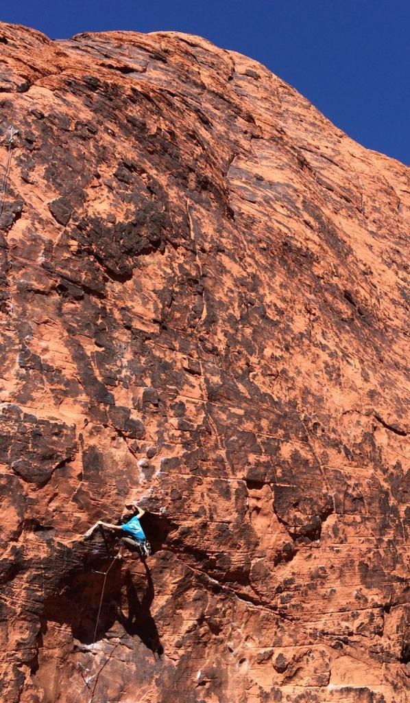 Greg- crushing. It is kinda more brown than red...