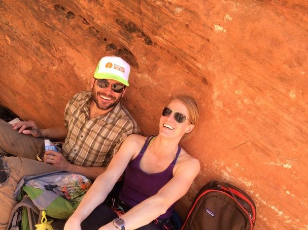 Lovely lady in the desert!