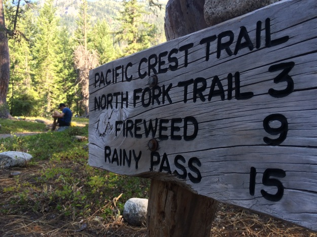 PCT, pacific crest trail, north cascades national park, stehekin