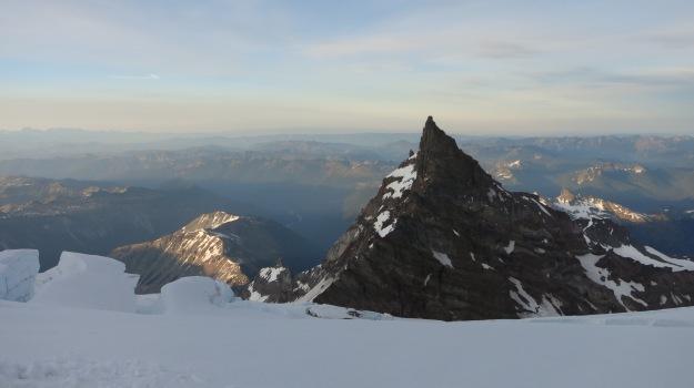 Mt Rainier National Park, Little Tahoma, climbing Rainier, mountaineering, Ingraham Flats