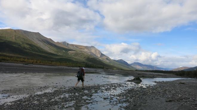 alaska river crossing