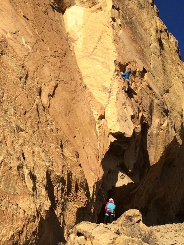 Koala Rock, Smith Rock, Central Oregon, Ryan's Arete