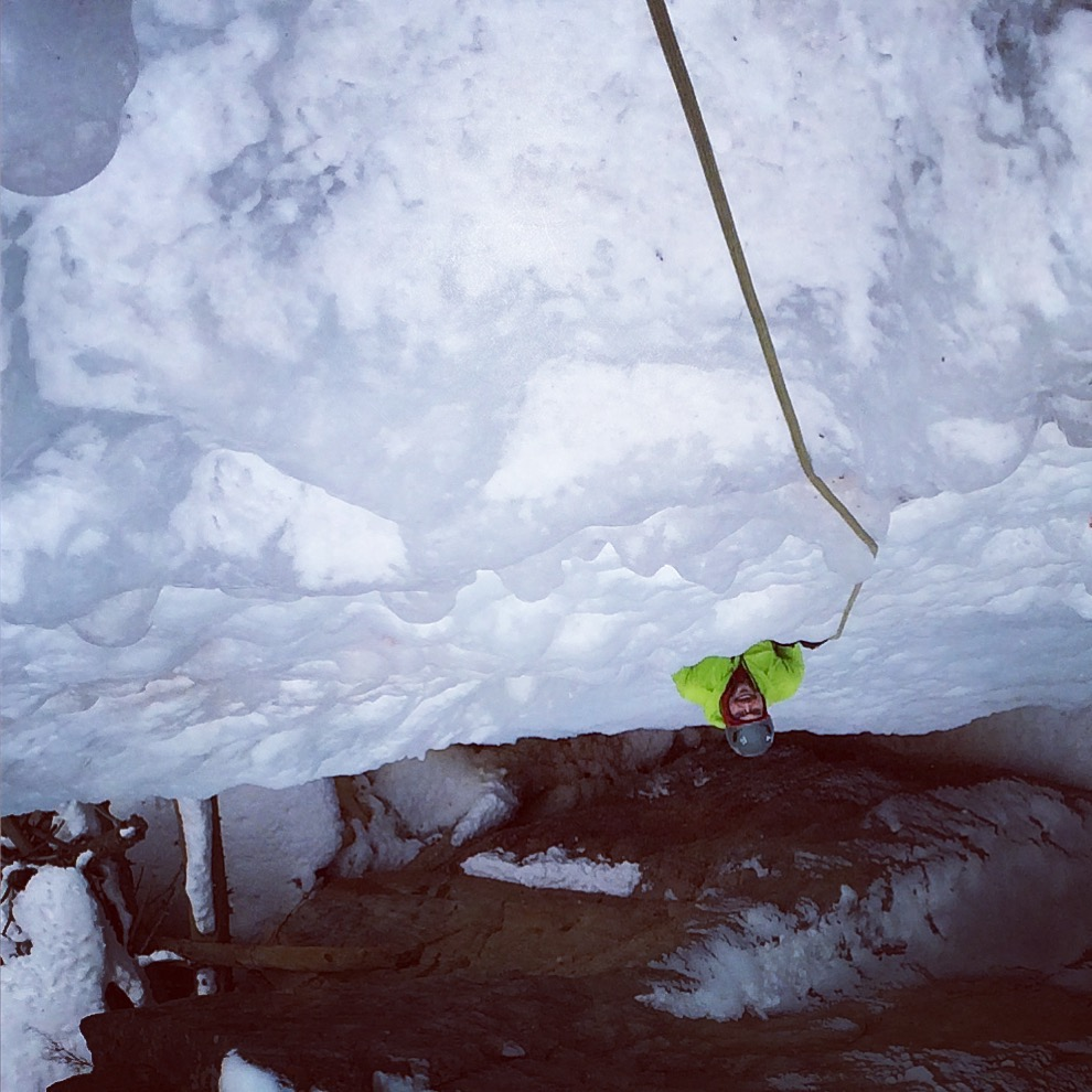 ouray ice park, ice climbing, top rope tough guy