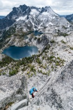 ben boldt photography, rock climbing, squeeze chimney, bergner-stanley, prusik peak, enchantments