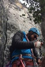 rock climbing, bergner-stanley, prusik peak