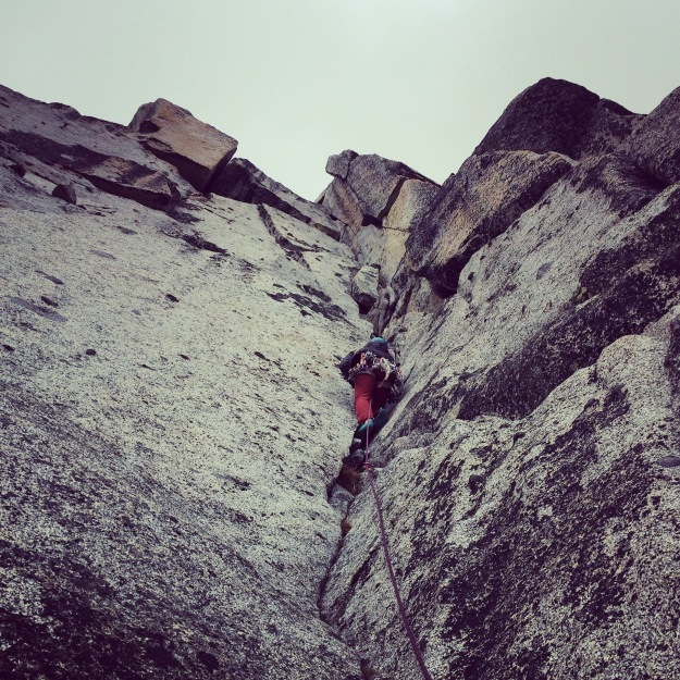 prusik peak, crux, rock climbing, enchantments