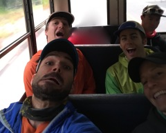 Shuttling into the Cutthroat Classic with some other lovely characters. 2018